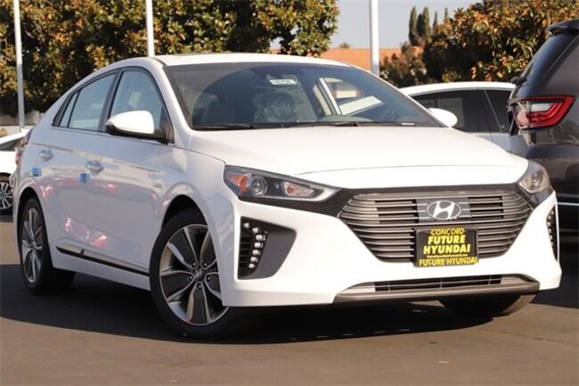 New 2019 Hyundai Ioniq Hybrid Limited Hatchback Concord, CA