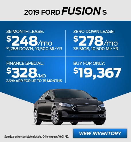 October - 2019 Fusion S