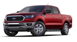 2020 Ford Ranger XLT 4WD Supercrew 5 Box truck