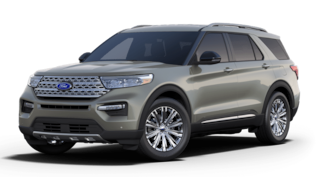 New 2020 Ford Explorer Limited SUV For Sale in Bryan, OH