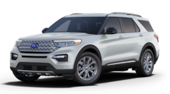 New 2021 Ford Explorer Limited SUV 1A1421 in Pella, IA
