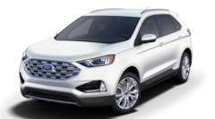 New 2019 Ford Edge Titanium Crossover 2FMPK4K9XKBC70247 in Rochester, New York, at West Herr Ford of Rochester