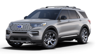 New 2020 Ford Explorer Platinum Sport Utility in Susanville, near Reno NV