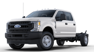 2021 Ford F-350 Chassis XL w/ 9' Service Body Commercial-truck
