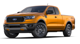 2021 Ford Ranger XLT 2WD Supercab 6 Box truck