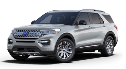 Featured New 2021 Ford Explorer Limited SUV for Sale in Newark, CA