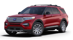 New 2021 Ford Explorer Limited SUV 1FMSK8FH5MGA49296 for Sale in Eureka, IL at Mangold Ford