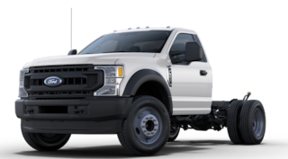 2020 Ford F-550 Chassis XL LANDSCAPE DUMP 12 FOOT Truck Regular Cab