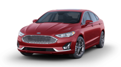 New 2020 Ford Fusion Hybrid Titanium Sedan 3FA6P0RU2LR185058 in Dade City, FL