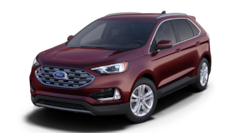 New 2021 Ford Edge SEL Crossover 2FMPK4J99MBA17358 in Rochester, New York, at West Herr Ford of Rochester
