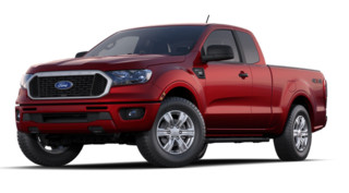 2020 Ford Ranger XLT 4WD Supercab 6 Box truck