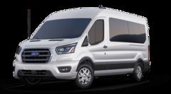 New 2020 Ford Transit-350 Passenger Wagon Medium Roof Van FL1410 Waterford MI