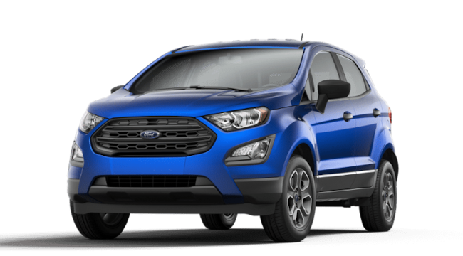 New 2020 Ford EcoSport S Crossover for sale in Bremen, IN