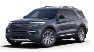New 2021 Ford Explorer King Ranch SUV in Dyersville IA