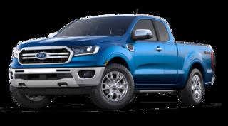 2021 Ford Ranger Lariat 4WD Supercab 6 Box truck