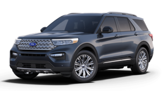 New 2021 Ford Explorer Limited SUV in Dyersville IA