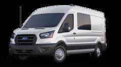 New 2020 Ford Transit-250 Crew Base Van Medium Roof Van 1FTBR1D85LKA90985 in Long Island