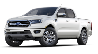 New 2020 Ford Ranger LARIAT Crew Cab Pickup in Susanville, near Reno NV