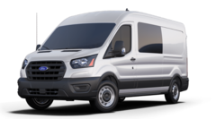 New 2020 Ford Transit-250 Crew Base Van Medium Roof Van 1FTBR1D80LKA12405 in Long Island