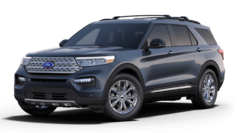 New 2021 Ford Explorer Limited SUV for sale in Hobart, IN