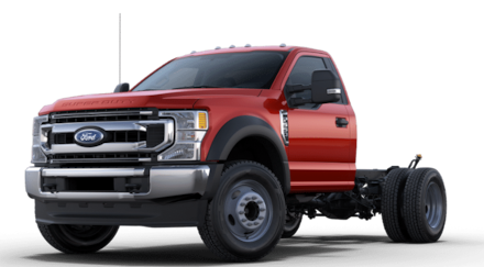 2021 Ford F-550 Chassis XLT DRW Truck Regular Cab