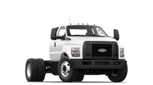 2021 Ford F-650 Diesel Kick-Up Frame Truck Regular Cab