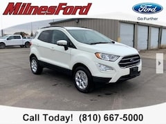 New 2020 Ford EcoSport SE SUV MAJ6S3GL5LC340288 for sale in Imlay City