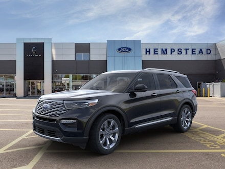 Featured New 2020 Ford Explorer Platinum SUV for Sale in Hempstead, NY