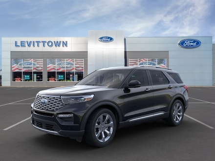 Featured New 2020 Ford Explorer Platinum SUV for Sale in Levittown, NY