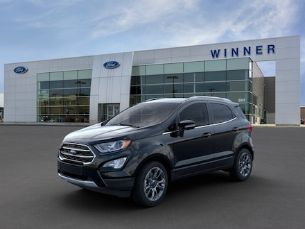 Featured new 2019 Ford EcoSport Titanium SUV for sale in Dover, DE