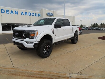Featured New 2021 Ford F-150 fx4 Black Widow Edition Truck for Sale in West Branch, MI