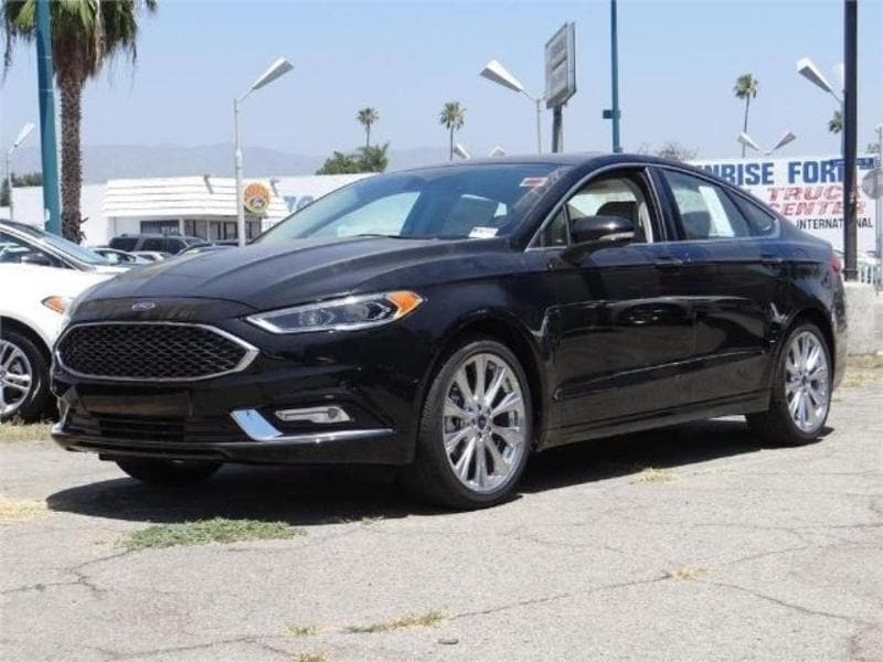 2017 Ford Fusion Platinum FWD sedan