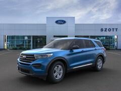 New 2020 Ford Explorer XLT SUV 1FMSK8DH9LGB81379 in Holly, MI
