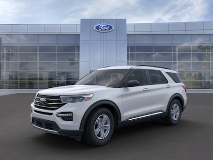 Featured new 2021 Ford Explorer XLT SUV for sale in Mexia, TX