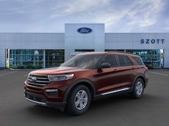 New 2020 Ford Explorer XLT SUV 1FMSK8DH4LGC44873 in Holly, MI