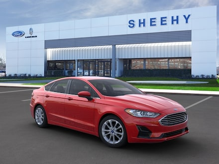 Featured New 2020 Ford Fusion Hybrid SE Sedan for sale near you in Richmond, VA