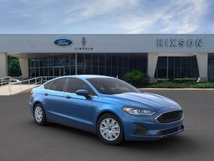 2020 Ford Fusion S Sedan Front-Wheel Drive (F