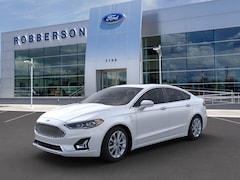 New 2020 Ford Fusion Energi Plug-in Hybrid Titanium Sedan for Sale in Bend, OR