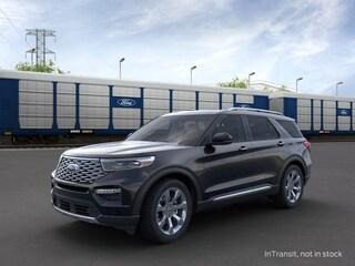 New 2020 Ford Explorer Platinum SUV in Danbury, CT