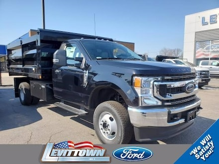 Featured New 2021 Ford F-350 Chassis XL 12 Rugby Landscape Body Truck Regular Cab for Sale in Levittown, NY