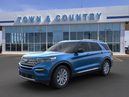 Featured new 2020 Ford Explorer Limited SUV for sale in Evansville, IN