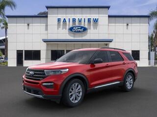 New 2020 Ford Explorer XLT SUV 1FMSK7DHXLGB21993 For sale near Fontana, CA