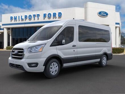 2020 Ford Transit-350 Passenger XL (T-350 148 Med Roof XL RWD) Wagon Medium Roof Van
