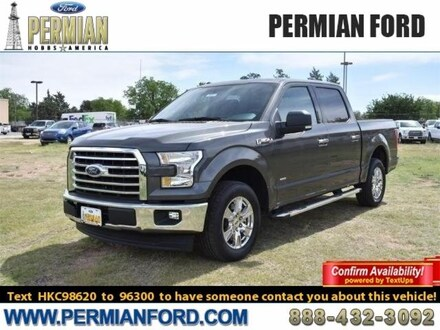 2017 Ford F-150 XLT 2WD Supercrew 5.5 Box Truck SuperCrew Cab