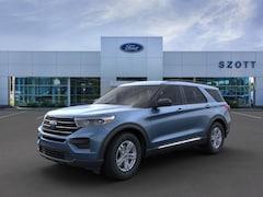 New 2020 Ford Explorer XLT SUV 1FMSK8DH6LGC26844 in Holly, MI