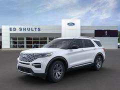 New 2020 Ford Explorer Platinum SUV in Jamestown, NY