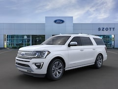 New 2020 Ford Expedition Max Platinum SUV 1FMJK1MT6LEA07563 in Holly, MI