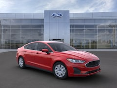 New 2020 Ford Fusion S Sedan 3FA6P0G73LR200101 in Rochester, New York, at West Herr Ford of Rochester