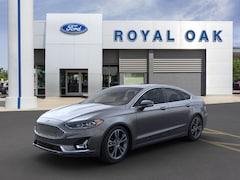New 2020 Ford Fusion Titanium Sedan in Royal Oak, MI