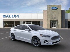 New 2020 Ford Fusion Hybrid Titanium Sedan for sale at your Charlottesville VA used Ford authority